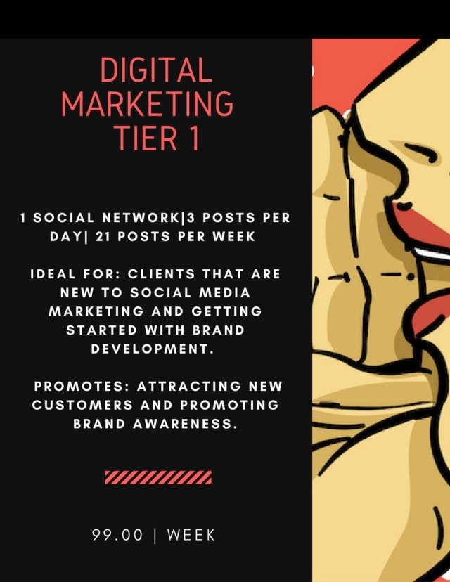 Digital Marketing Price Flyer - Tier 1 (5.1.18)