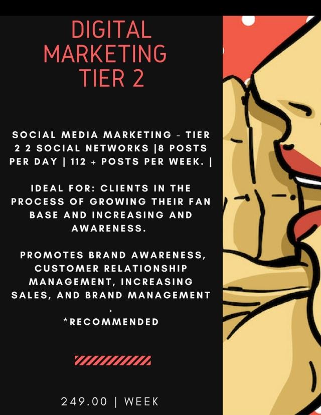Digital Marketing Price Flyer - Tier 2 (5.1.18)