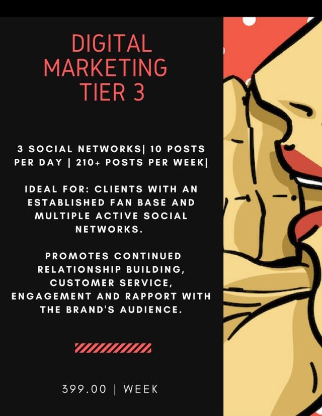 Digital Marketing Price Flyer - Tier 3 (5.1.18)